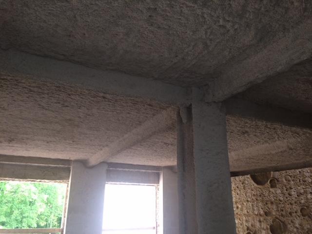Zabezpieczenie ppoż. stropów i konstrukcji stalowej budynku