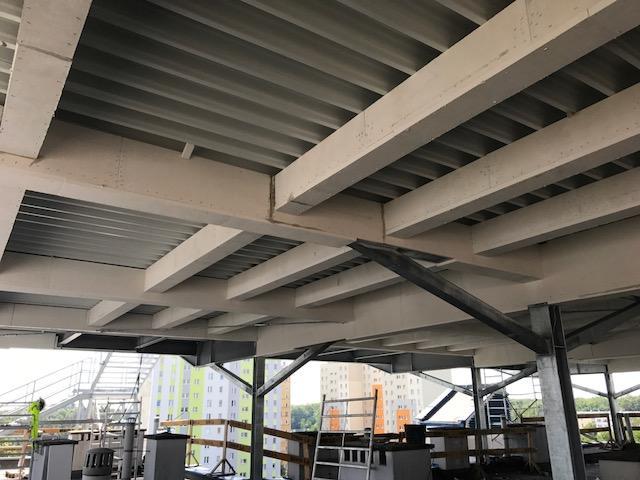Zabezpieczenie konstrukcji stalowej